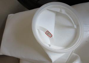 China plastic ring filter Bags industry filter bag for liquild / water filtration on sale