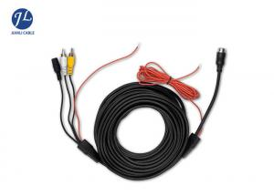 China 6M RCA Video Cable For Car Rear View Backup Camera Bus Truck Caravan 12V-24V on sale