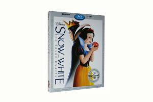 China 2016 Blue ray Snow White and the Seven Dwarfs cartoon dvd Movies disney movie for children on sale
