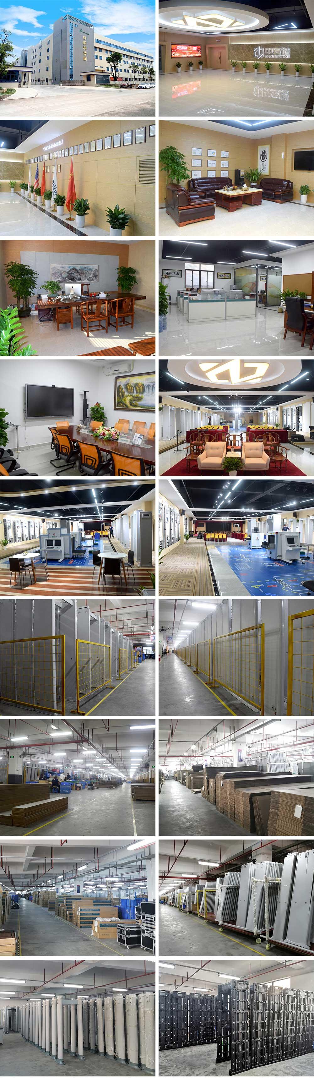 walk through metal detector factory