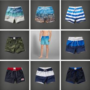 China free sample summer beachwear good design men's swimming trunks on sale