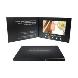 China Creative 2.4 4.3 7 Inch LCD Display A4 Video Brochure A5 Digital Greeting Card For Brand Business birthday card on sale