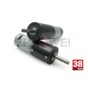 China 38mm Automobile DC Motor , 6V 24V 12V Planetary Gear Motor With 4nm High Torque on sale