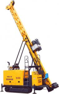 China HYDX - 5A Full Hydraulic Core Drill Rig With Crawler Mountd NQ 1300m HQ 1000m on sale