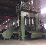 Prensa de empacotamento de aço da sucata da operação do PLC com a prensa manual do alumínio da válvula/sucata