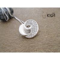 Fashion Jewelry 925 Sterling Silver Gemstone Pendant with Zircon W-VB869