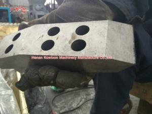 China Durable Double Shaft Shredder Machine , Plastic Waste Shredding Machine on sale