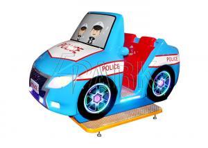 China Fiberglass And Plastic World Police Car Kiddy Ride Machine L192*W106*H135CM on sale