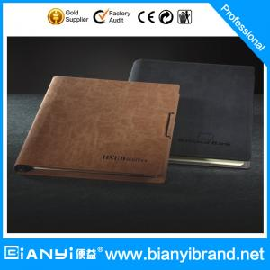 China Good quality booster custom-make loose leaf notebook A5 on sale