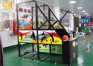 China Kids Coin Operated Game Machine Indoor Basketball Hoop With Scoreboard on sale