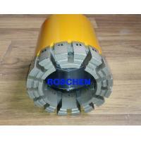 Q Wireline Coring System NQ HQ PQ Impregnated Drill Drill Bits , ISO
