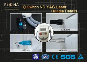 China 532nm 1064nm 1320nm 2000mj 10Hz new laser for tattoo removal, Q switched nd yag laser with CE RoHS on sale