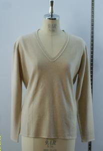 China V Neck Cashmere Sweater 51023 supplier