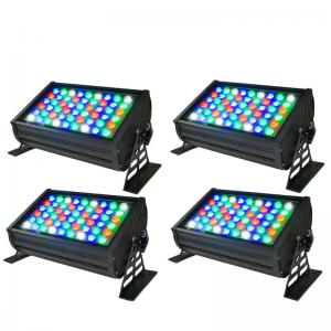 China High Quality CE RoHs Listed 54x3W RGBW DMX LED Wall Washer Light Outdoor on sale