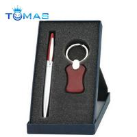 hot selling promotion metal and wooden pen gift set