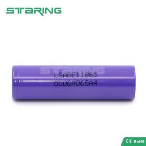 China Batería auténtica 3.7V de la célula de batería de ión de litio de la batería 3200mAh de LG E1 18650 18650 para la linterna on sale