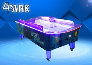 China 2 Player Arcade Table Games Coin Operated Curve Screen / Adult Air Hockey on sale