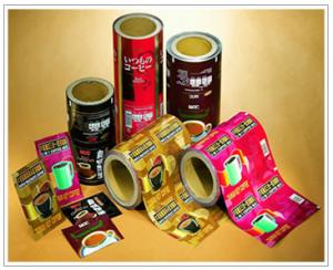 China Gravure Trap Printed Composite Roll PET / PET / PE Packaging Plastic Film on sale