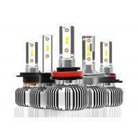 Fanless LED Replacement Headlight Bulbs With Fast Start Speed 9005 9006 9012