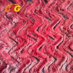 Decorative Polyester Faux Fur Fabric For Car Seat Cover / Shoes 150CM Width