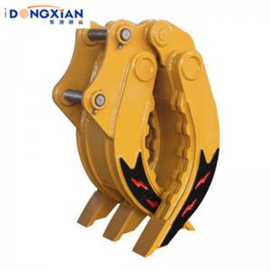 China 5 Tines Excavator Hydraulic Parts Manual Log Grapple For 12t 20t 30t Volvo Hyundai Hitachi on sale