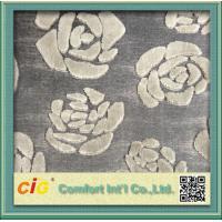 China Modern Chenille Sofa Fabric / chenille jacquard  fabric For Furniture on sale