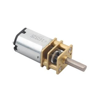 China 3v 6v 9v 12v Small DC Gear Motor / N20 Dc Gear Motor With Encoder For Smart Robot on sale