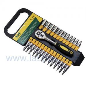 """Quality TSS1427 -27pcs 1/4"""" sistema del zócalo, llave de zócalo, herramientas de alta calidad de la mano for sale"""