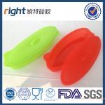 Conteneur de nourriture de silicone de catégorie comestible avec LFGB/FDA