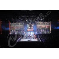China Custom Indoor P4.46 HD Video Wall LED Display Curtain Led Screen For Concert on sale