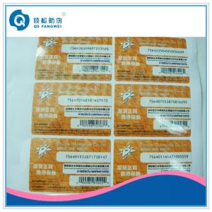 China Rectangle A4 Self Adhesive Labels on sale