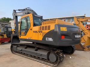 China Year 2017 Used Volvo Excavator 21 Ton , EC210BLC Volvo Used Equipment 93% UC on sale