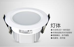 China 20W Led Recessed Ceiling Lights IP40 50Hz 90 lm/w For Commercial Lighting on sale