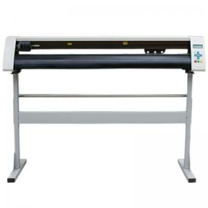 China Different Cutting Size Vinyl Cutter Plotter With Risc Micro - Controller System on sale
