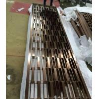 China a tubulação 201 de aço inoxidável soldou o divisor da tela do preço de grosso da fábrica de Foshan dos painéis de parede on sale