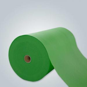 China High Strength Polyester Spunbond Fabric , Non Woven Geotextile Fabric Non Toxic on sale