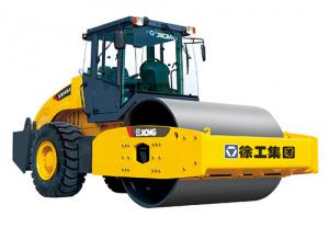 China XS163J  XCMG's 16 tons single drum mechanical drive vibratory road rollers on sale