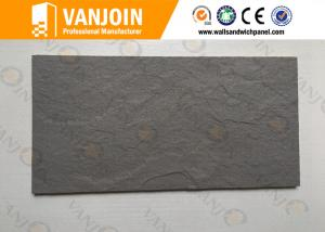 China Natural Texture Decorative Stone Tiles , Flexible Wall Tiles Soft Slate on sale