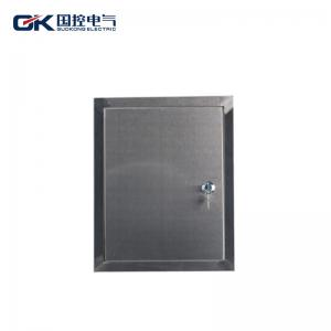 China Various Control Stainless Steel Distribution Box Dustproof Hinged With Grounding Screw on sale