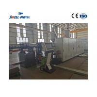 China Jwell New Technology Single Screw HDPE Double Wall Corrugated Pipe Manufacturing Production Line on sale