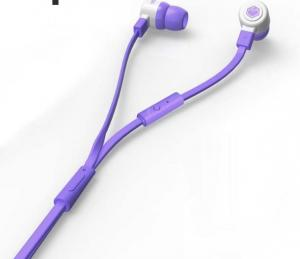 China ABS Material Customized Promotional Gifts Hands Free Earphones With 3.5mm Connector on sale