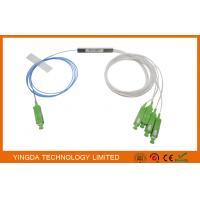 1*4 SC/APC Blockless PLC Splitter Block Type 900um FTTH PON Passive ODN LSZH 1Meter Pigtails