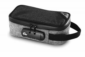 China Skunk Sidekick Carbon Smell Proof bags w/Combo LockNEW Collection Grey 8 x 4 x 3inches on sale