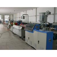 China PVC Conical Plastic Extrusion Machine Process Pipe / Sheet / Pellet on sale