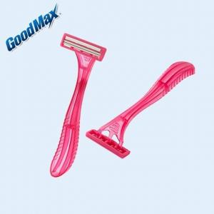 Comfort Close Shave Twin Blade Disposable Razor With Good Hardness Durable