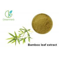 Organic Bamboo Leaf Extract Powder 40% Flavone Folium Phyllostachys