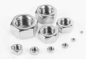 China Small Nut And Washer , Industrial Metric Hex Stainless Steel Hex Nut on sale
