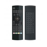3 Gsensor Air Mouse Wireless Keyboard  Mx3 81 Keys  Rubber And Silicone Material