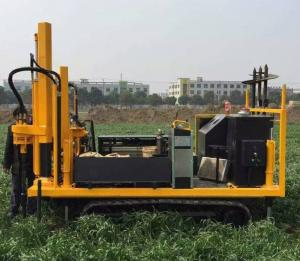 China Hydraulic 200kN soil cone penetration testing equipment for soil on site testing on sale