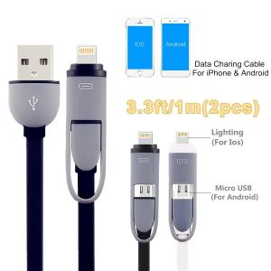 China 3.3FT Cell Phone Usb Cable Used In Iphone And Other Android Phones on sale